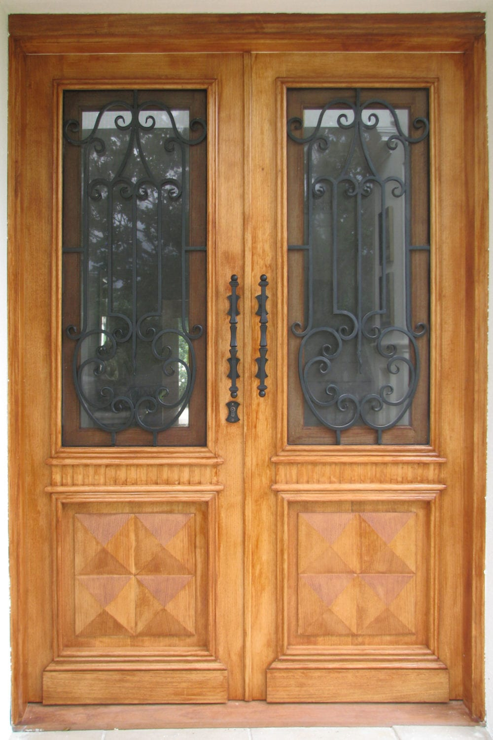 Aussie Doors Wrought Iron Amp Timber Designer Doors All