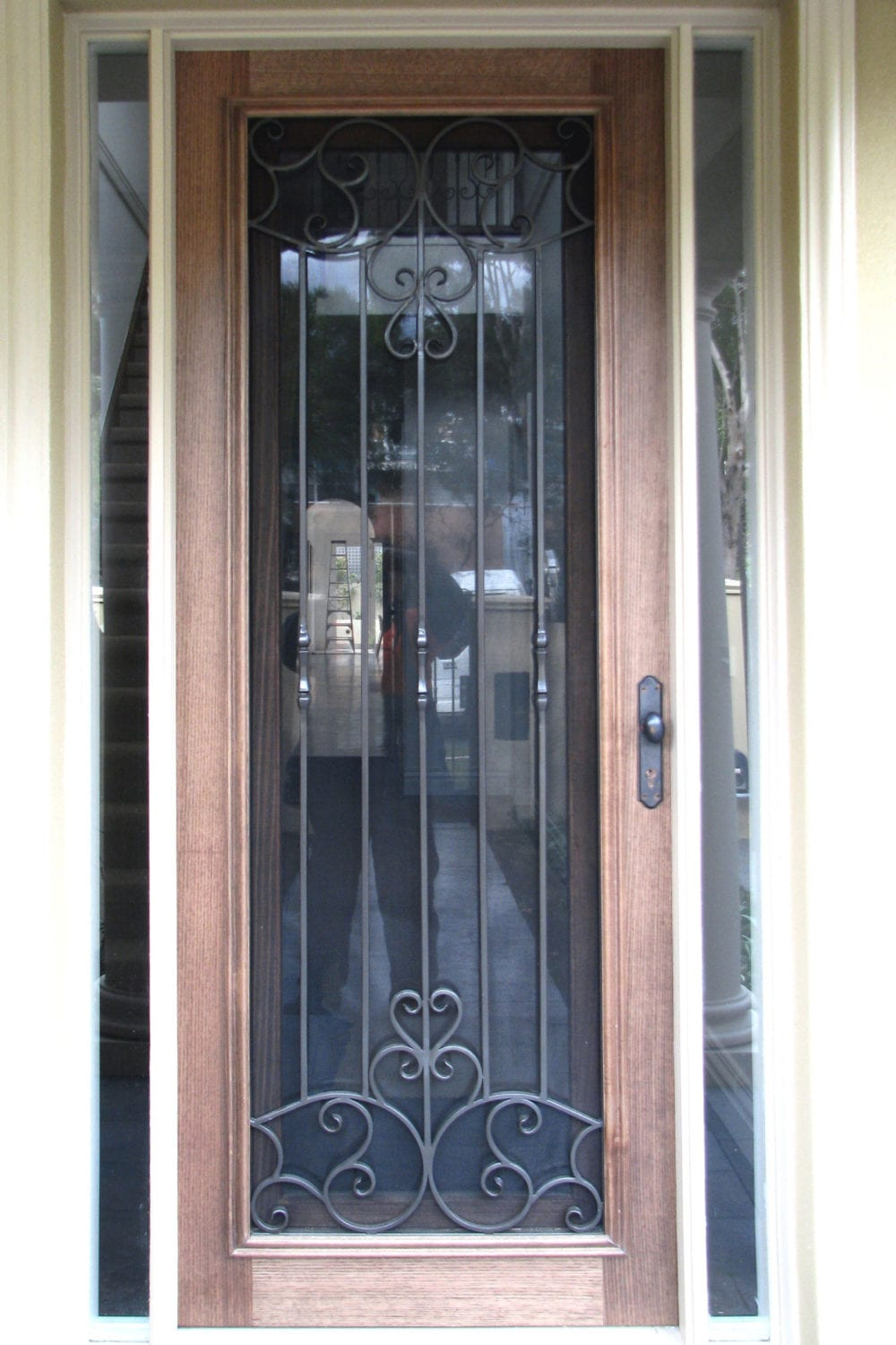 19 & Timber \u0026 wrought Iron doors add beauty elegance \u0026 security to your ... Pezcame.Com