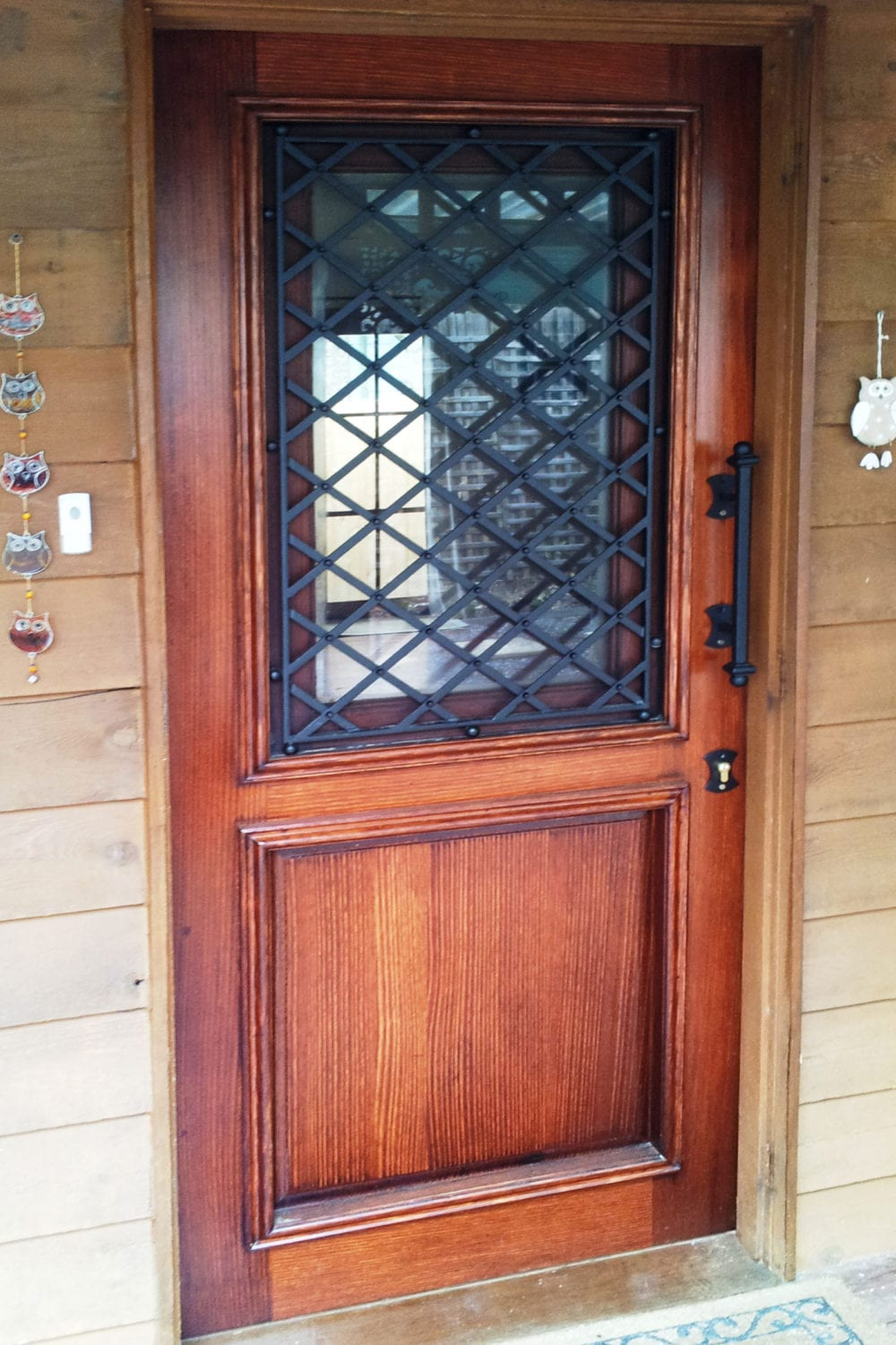 4 & Timber \u0026 wrought Iron doors add beauty elegance \u0026 security to your ... Pezcame.Com