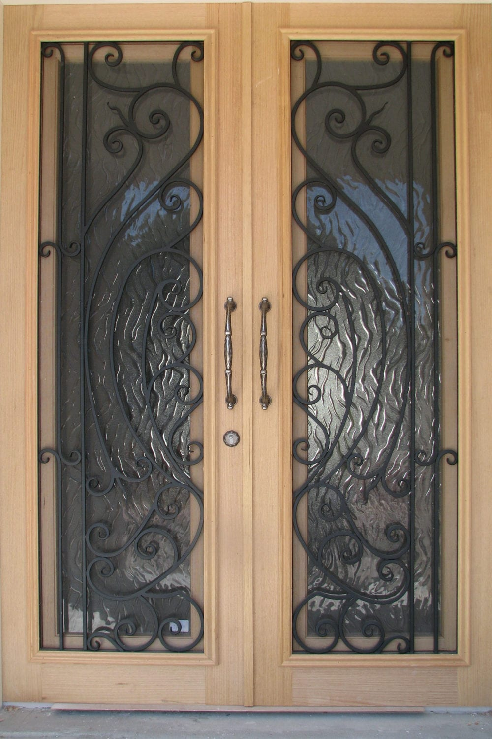 41 & Timber u0026 wrought Iron doors add beauty elegance u0026 security to your home