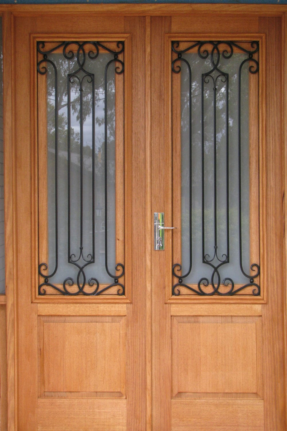 Aussie Wrought Iron and Timber Doors is a Australian owned family business based in Bayswater Victoria manufacturing designing Australiau0027s highest ... & We manufacture unique inidually designed doors for varied clients pezcame.com