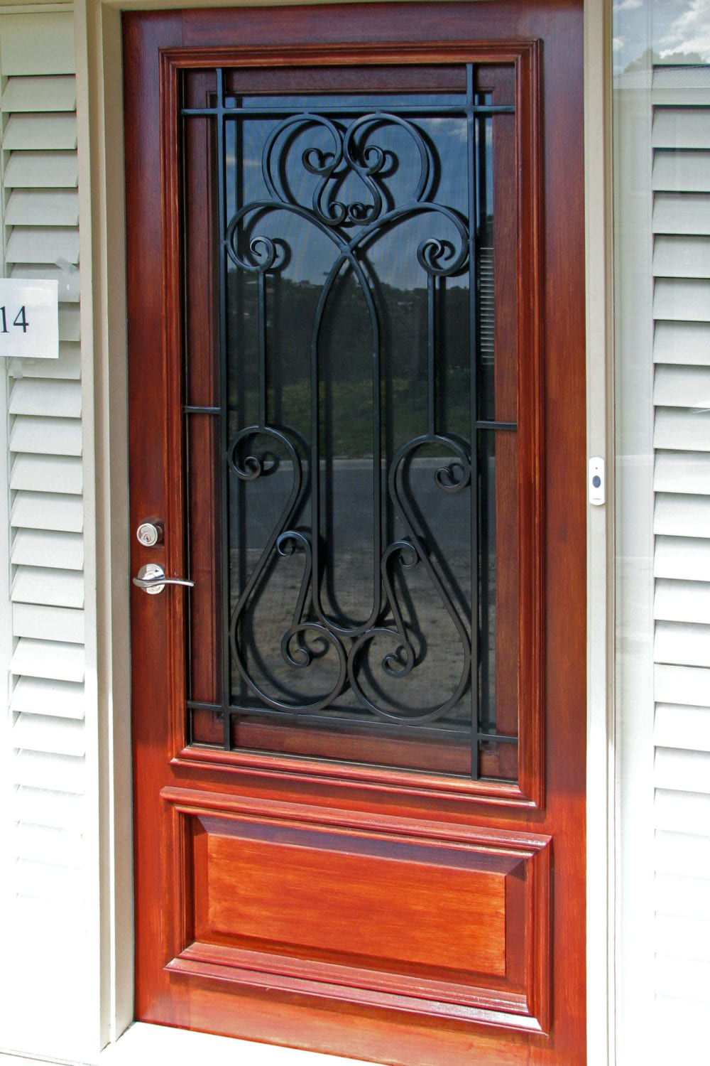 Quality bayswater security doors the superior door company for Quality doors