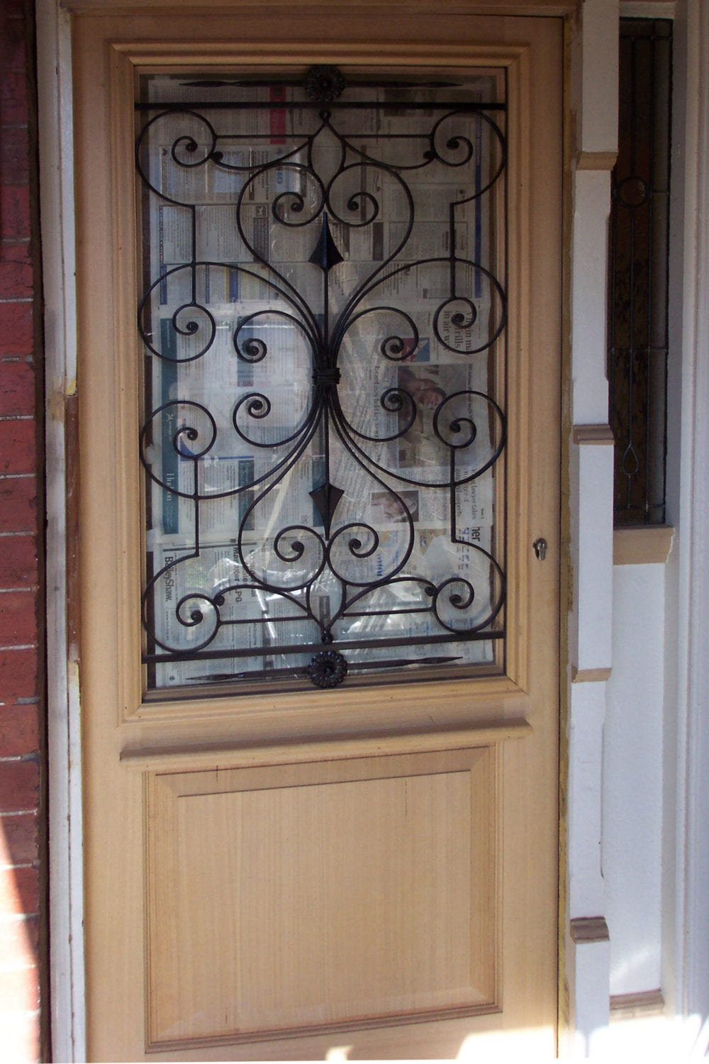 2400 #8C6640 And Timber Doors Design And Manufacture Doors To Suit Any Design  image Wrought Iron And Wood Doors 40031600
